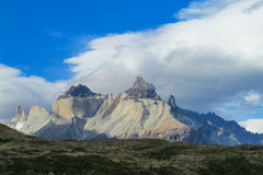 Torres del Paine mountains Royalty Free Stock Photo
