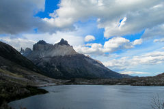 Torres del Paine mountains Royalty Free Stock Photos