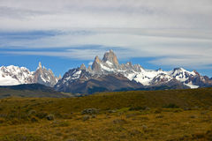 Torres del paine mountains Stock Photography