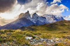 Torres del Paine National Park Stock Fotografie