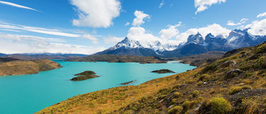 Torres del paine national park Royalty Free Stock Photos