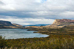 Torres del Paine National Park in the Autumn Stock Image
