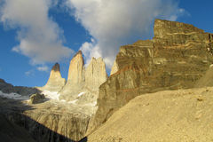 Torres del Paine national park in Chile Royalty Free Stock Photo