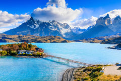 Torres Del Paine National Park, Chile. royalty free stock photos