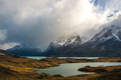 Torres del Paine National Park in Chile Stock Images