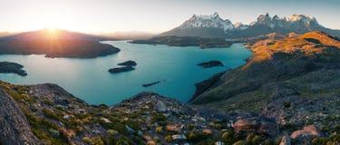 Torres del Paine National Park royalty-vrije stock fotografie