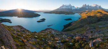 Torres del Paine National Park stock afbeelding