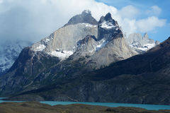 Torres del Paine National Park 9 Stock Photo