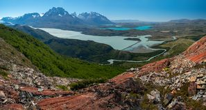 Torres del Paine National Park royalty-vrije stock foto's