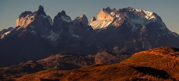 Torres del Paine National Park royalty free stock photo