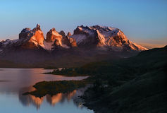 Torres del Paine National Park - Patagonia Royalty Free Stock Photo
