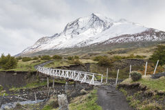 Torres del Paine National Park, Patagonia, Chile.  Royalty Free Stock Photo