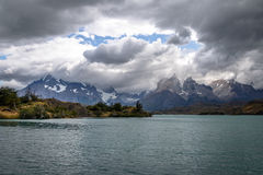 Torres del Paine National Park - Patagonia, Chile. Torres del Paine National Park in Patagonia, Chile Stock Photos