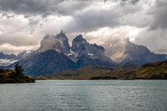 Torres del Paine National Park - Patagonia, Chile. Torres del Paine National Park in Patagonia, Chile Stock Images