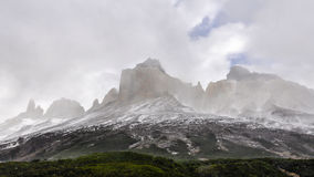Torres del Paine National Park, Patagonia, Chile. Beautiful peaks in the Torres del Paine National Park, Patagonia, Chile stock image