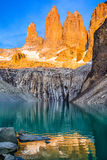 Torres del Paine National Park, Patagonia, Chile royalty free stock image