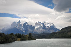 Torres Del Paine National Park Stock Photo