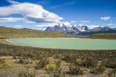 Torres del Paine National Park Stock Image