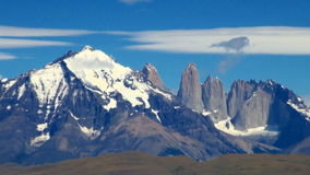 Torres del Paine National Park stock footage