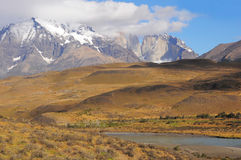 Torres del Paine National park. Stock Image