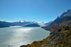 Torres del Paine National Park W-Trek stock photo