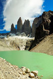 Torres del Paine nationalpark, Chile Royaltyfri Foto