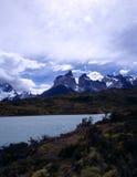Torres del Paine nel Patagonia, Argentina Fotografie Stock Libere da Diritti