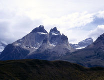Torres del Paine nel Patagonia, Argentina Immagine Stock Libera da Diritti