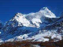 Torres del Paine nella caduta, Cile. Fotografia Stock Libera da Diritti