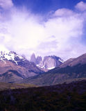 Torres del Paine no Patagonia, Argentina Fotos de Stock Royalty Free