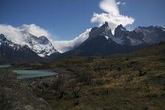 Torres del Paine NP Royaltyfri Foto