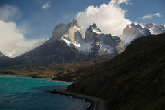Torres del Paine NP Arkivbild