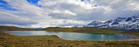 Torres del paine panorama Royalty Free Stock Photo