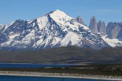 Torres Del Paine park narodowy w Patagonia Chile fotografia stock