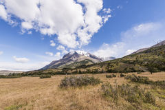 Torres del Paine park Stock Images