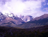 Torres del Paine in Patagonia, Argentina Stock Photography