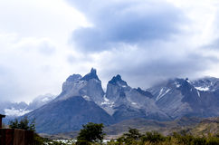 Torres del Paine - Patagonia - Chile nationalpark Royaltyfria Foton