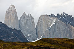 Torres del Paine, Patagonia, Chile Stock Photos