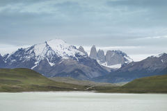 Torres del Paine peaks. Chile. South America Royalty Free Stock Images