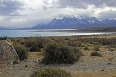 Torres Del Paine, southern Patagonia, Chile Stock Image