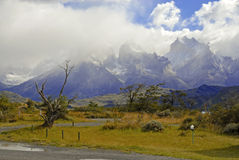 Torres Del Paine, southern Patagonia, Chile Stock Photography