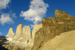 Torres del Paine towers Royalty Free Stock Photography