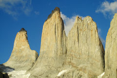Torres del Paine towers Royalty Free Stock Photos