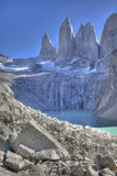 Torres del paine view. Chilean patagonia Stock Photo