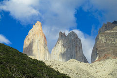 Torres del Paine view Royalty Free Stock Image