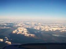 Torres Del Paine von der Luft Lizenzfreies Stockfoto