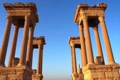 Torres del Palmyra foto de archivo