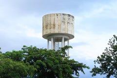 Torres del tanque de agua Imagen de archivo libre de regalías