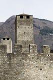 Torres do castelo Foto de Stock