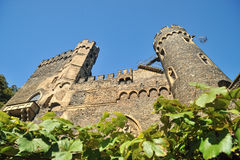 Torres do castelo Reichenstein Imagem de Stock Royalty Free